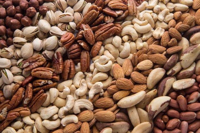 самые низкокалорийные орехи