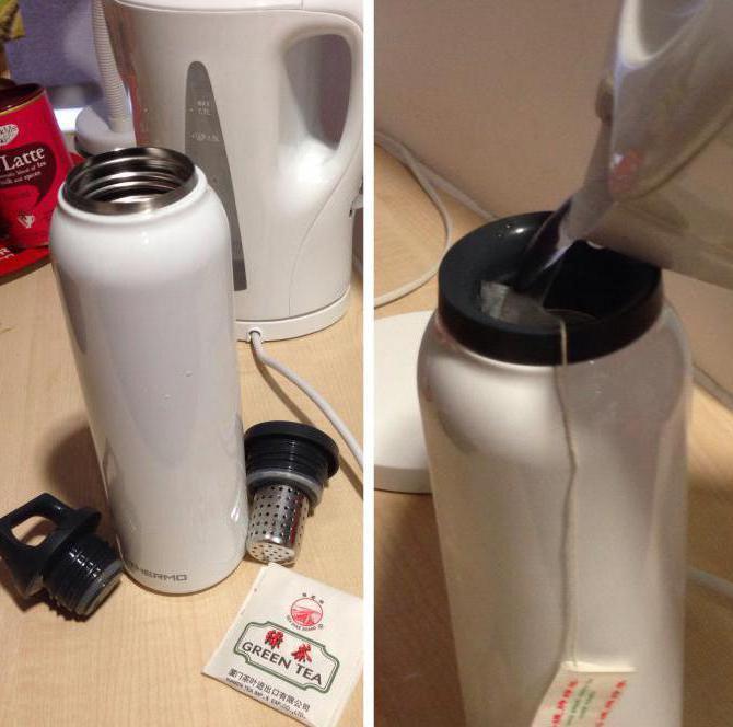 Как заварить чай в термосе пропорции