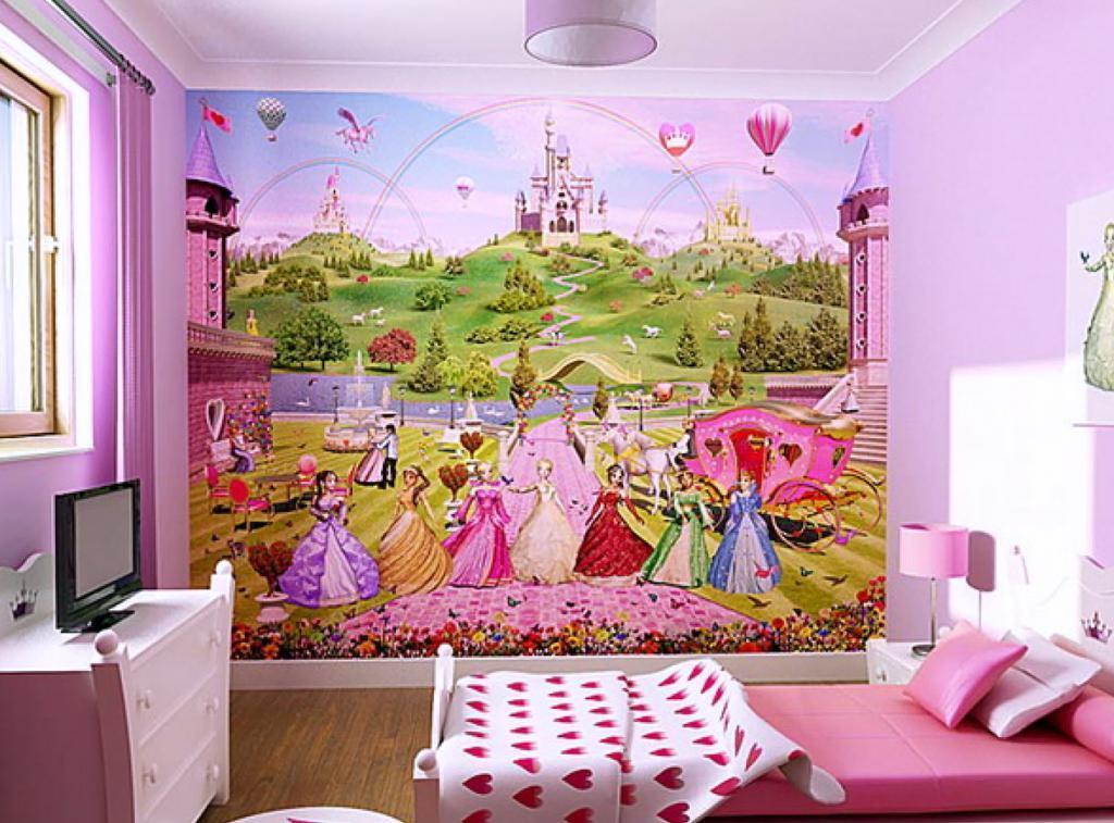 Design nursery for girls