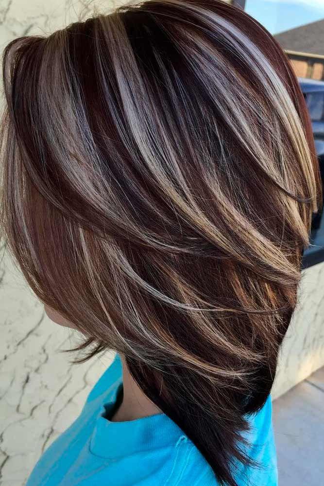 Картинки мелирование для волос