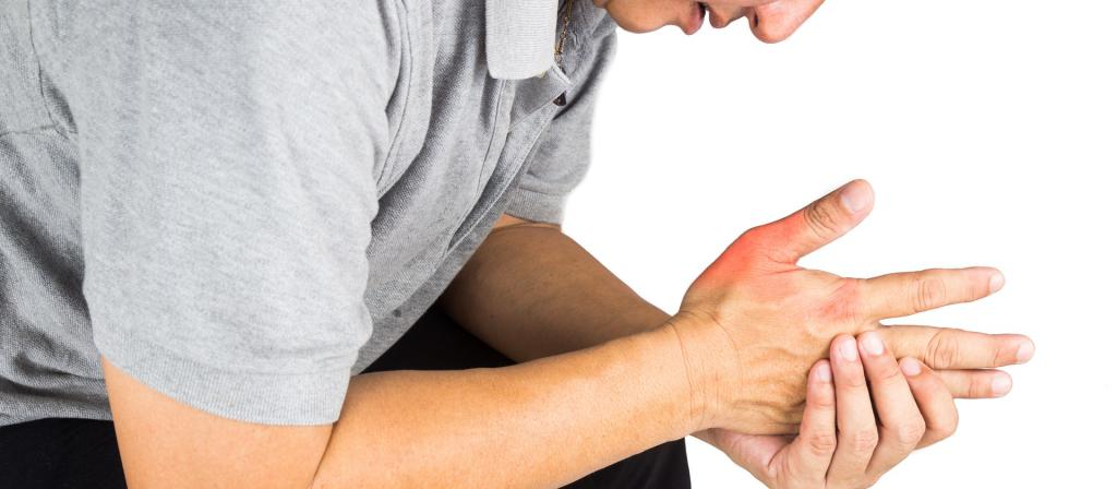Боль и отечность руки