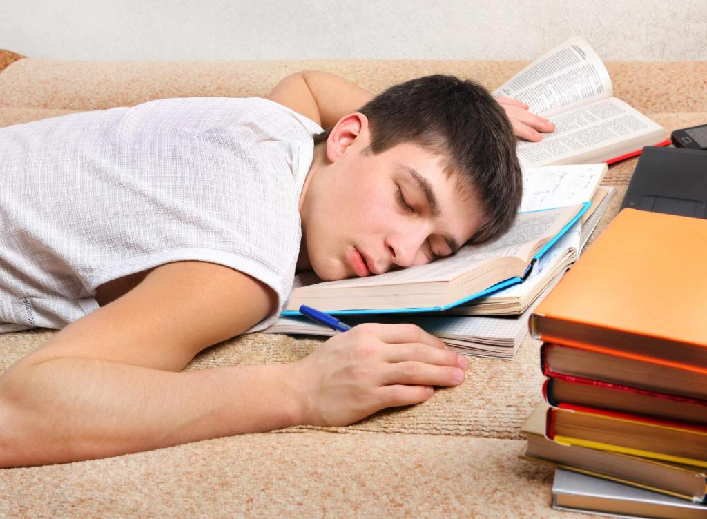 Lack of sleep in adolescents