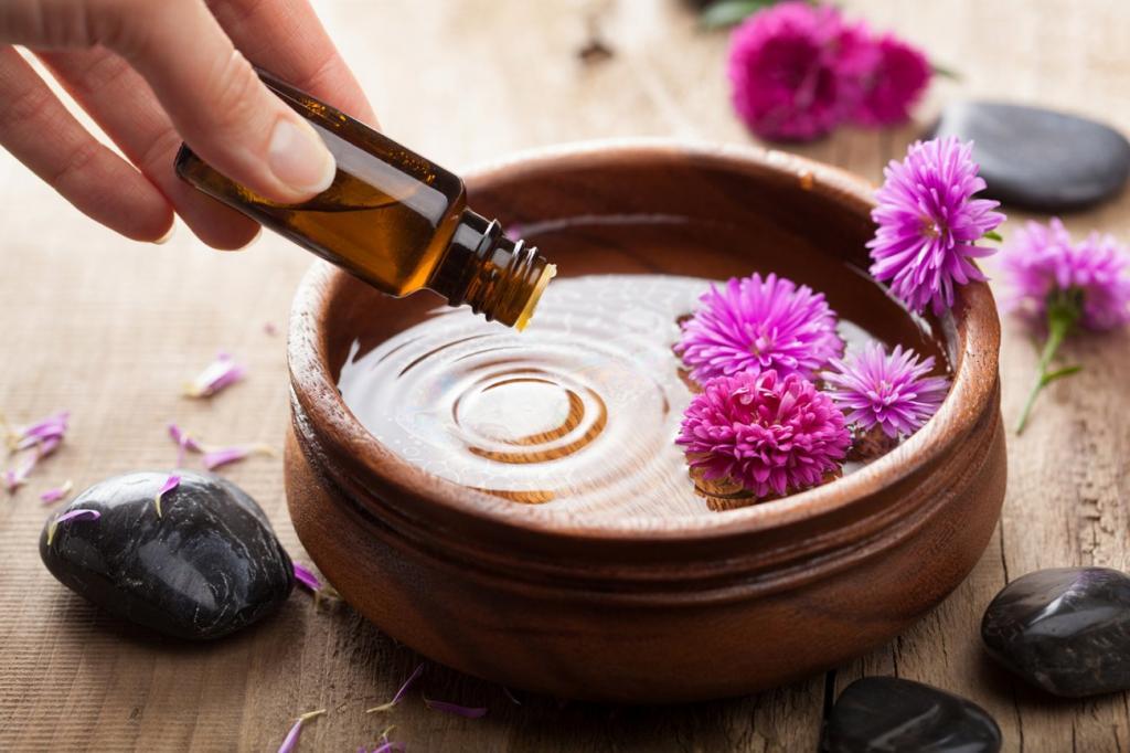 Проведение ароматерапии