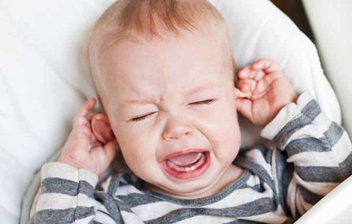 Ear diseases in a child