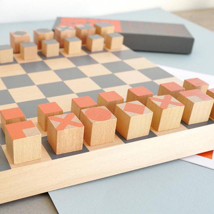 поля шахматной доски