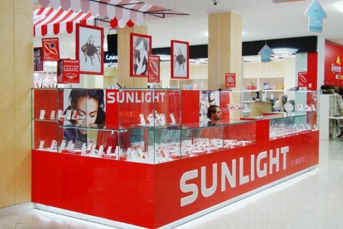 Адреса магазинов Sunlight в Москве