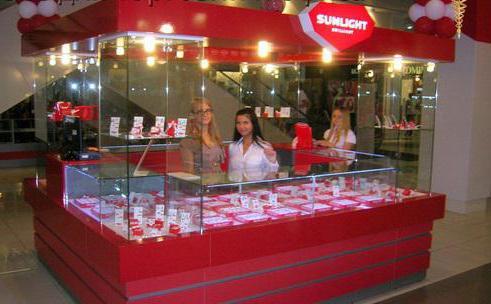 Ювелирный магазин Sunlight адреса в Москве