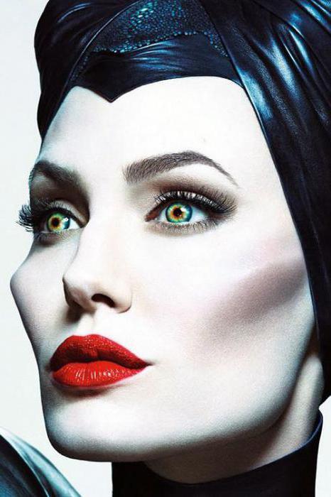 макияж на хэллоуин малефисента
