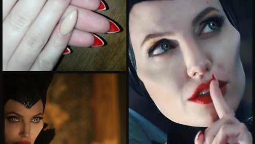 как сделать макияж малефисенты