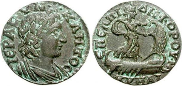 Римские монеты: фото и описание