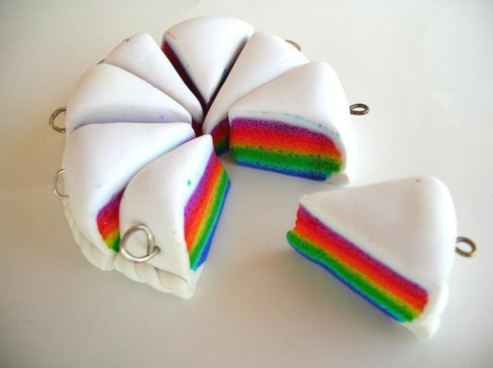 торт из пластилина для детей