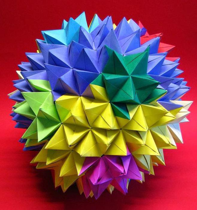 Все виды модульного оригами