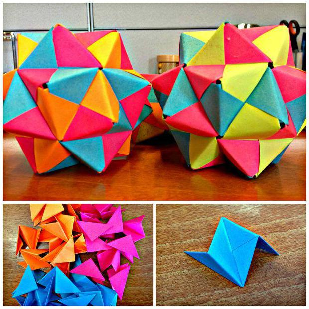 оригами из бумаги интересное схема картинки