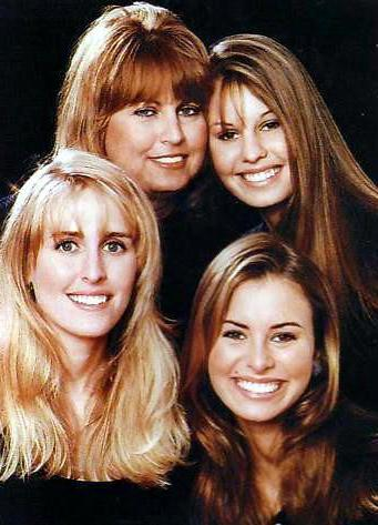 Крисси Тейлор фото с семьей