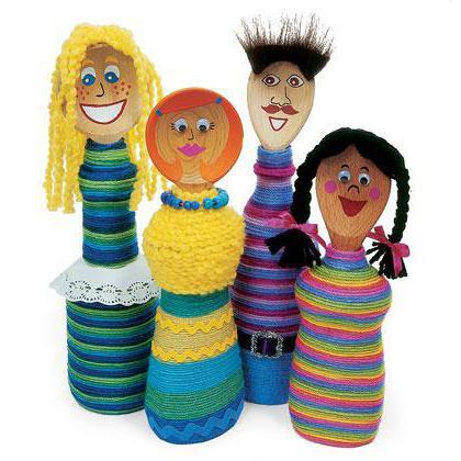 сделать куклу из пластиковой бутылки своими руками