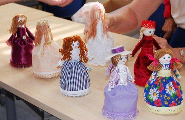 кукла из пластиковой бутылки своими руками