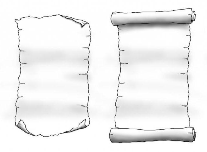 scroll drawing template images gallery pretty nice scroll paper