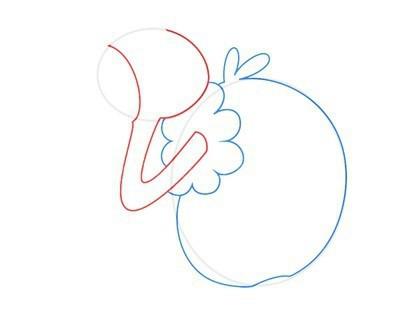 как нарисовать грифона поэтапно