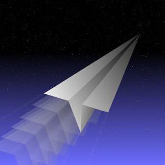 самолетики из бумаги которые летают очень долго