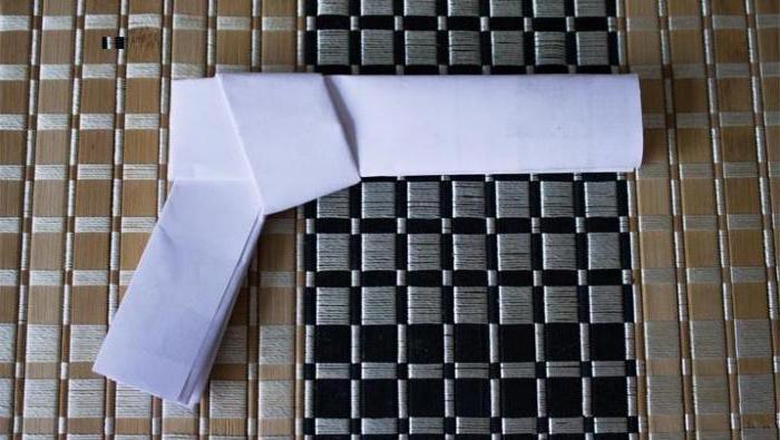 как сделать из бумаги ружье которое стреляет