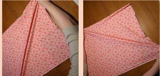 как определить долевую нить на ткани