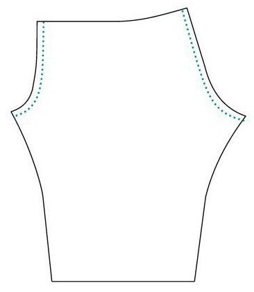 выкройка мужской пижамы