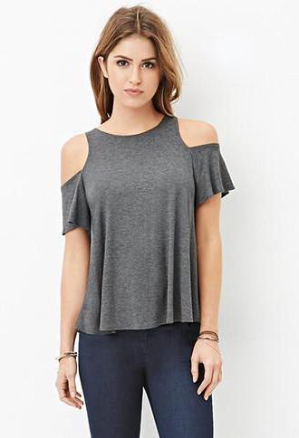 Одежда с открытыми плечами: с чем сочетать и как носить изоражения