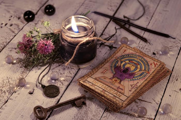 tarot cards deck