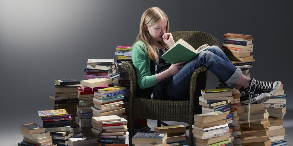 reading of books