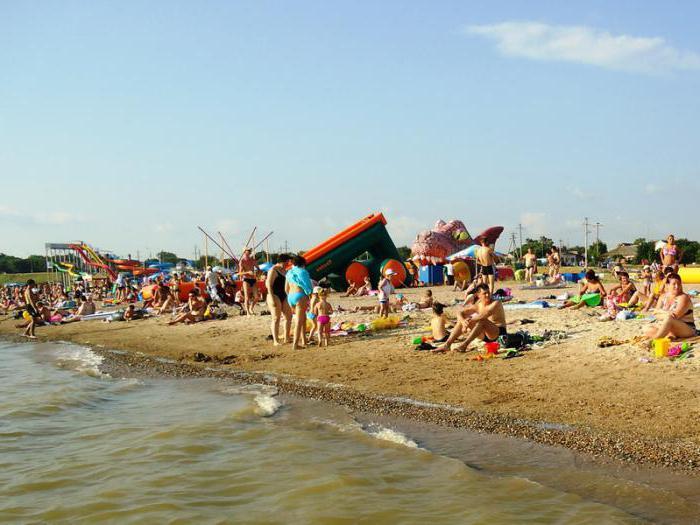 ейск пляж каменка