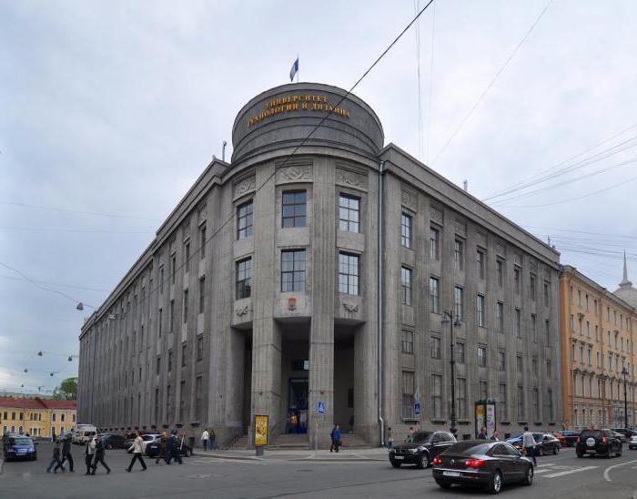 санкт петербургский институт технологии и дизайна