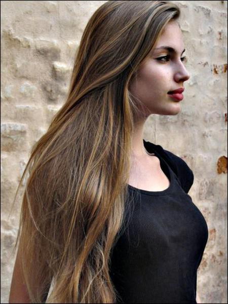 окрашивание русых волос в пепельный цвет