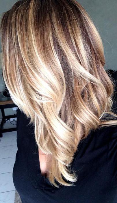 виды окрашивания русых волос