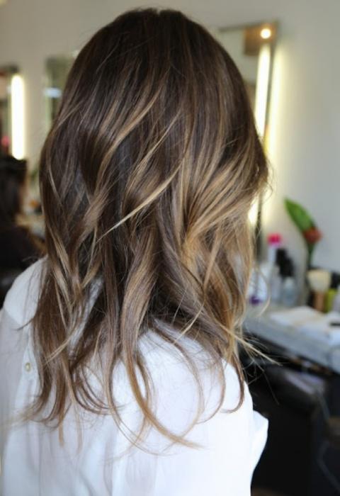 окрашивание русых волос в светлые тона