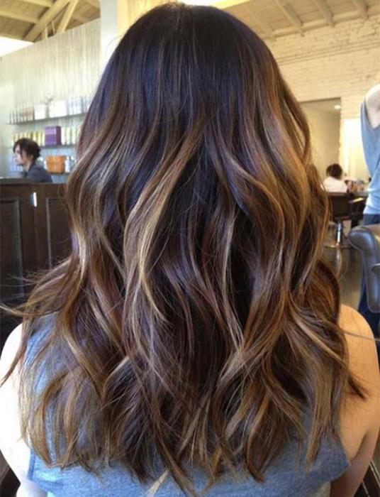 как называется двухцветное окрашивание волос