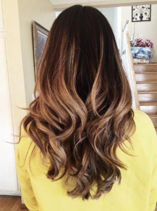 двухцветное окрашивание коротких волос