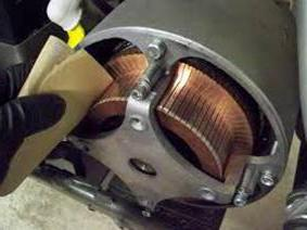 Замена коллектора якоря электродвигателя 108
