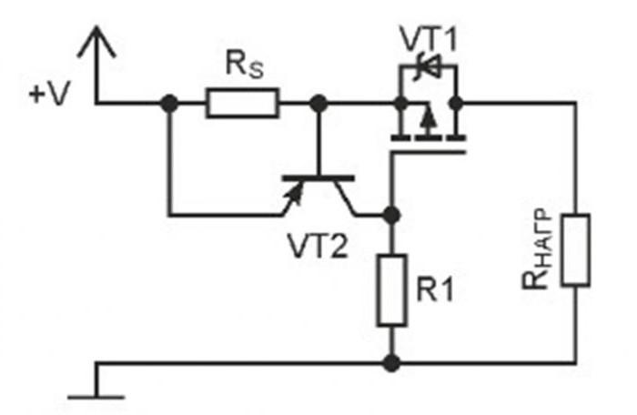 ограничитель тока схема