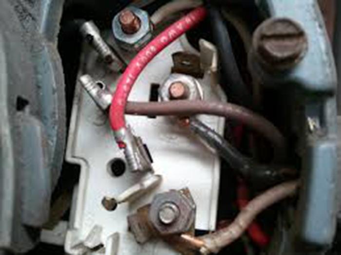 выводы обмоток двигателя