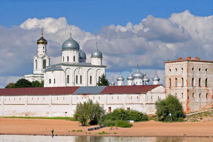 Свято юрьев мужской монастырь великий новгород