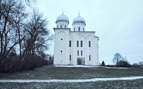 Георгиевский собор юрьева монастыря великий новгород