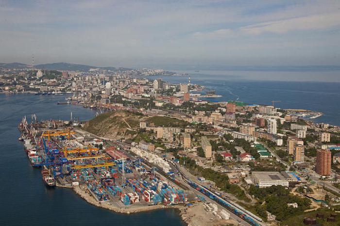 Районы Владивостока