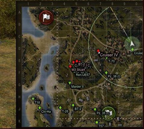 увеличить мини карту в world of tanks