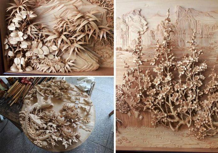 Виды резьбы по дереву. Основные характеристики