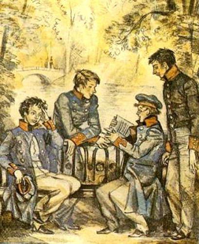 пушкин 19 октября 1825 анализ