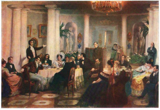19 октября пушкин стих анализ