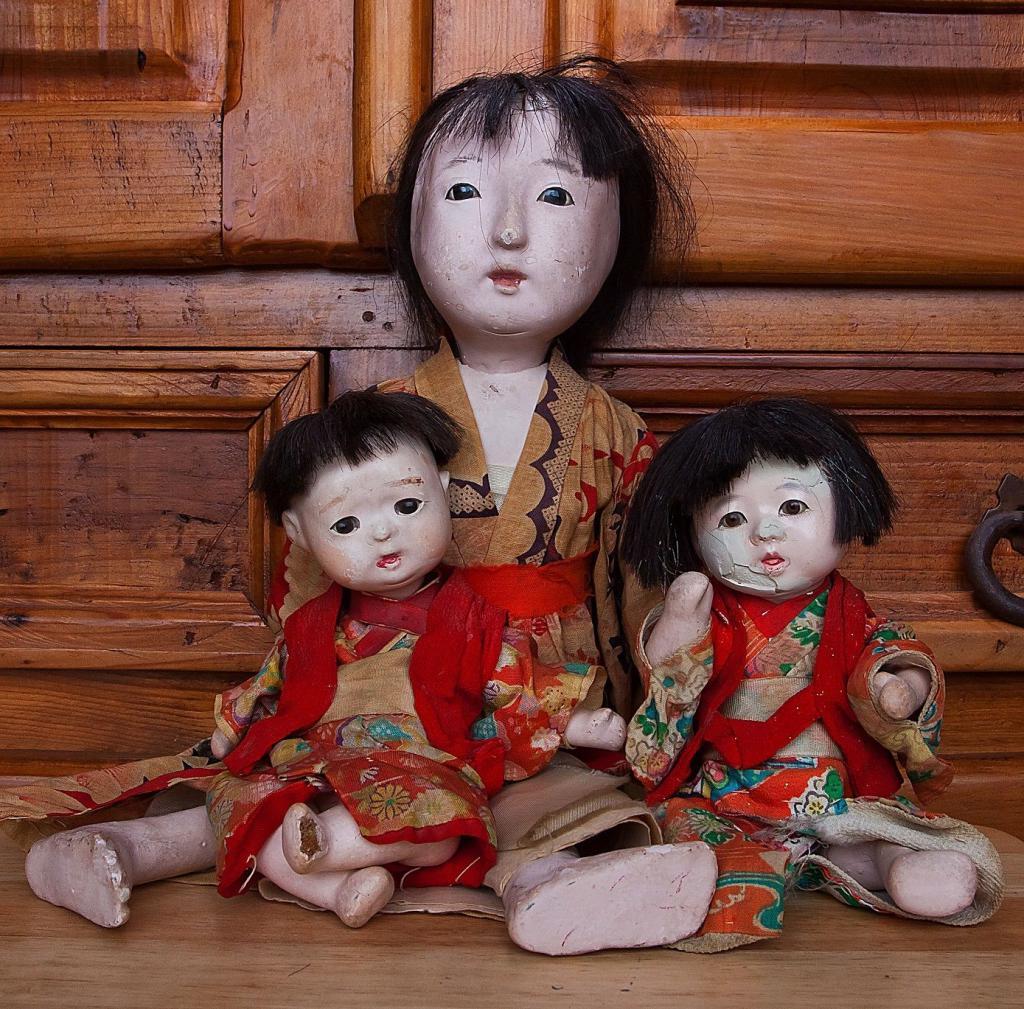 Как сделать куклы нинге
