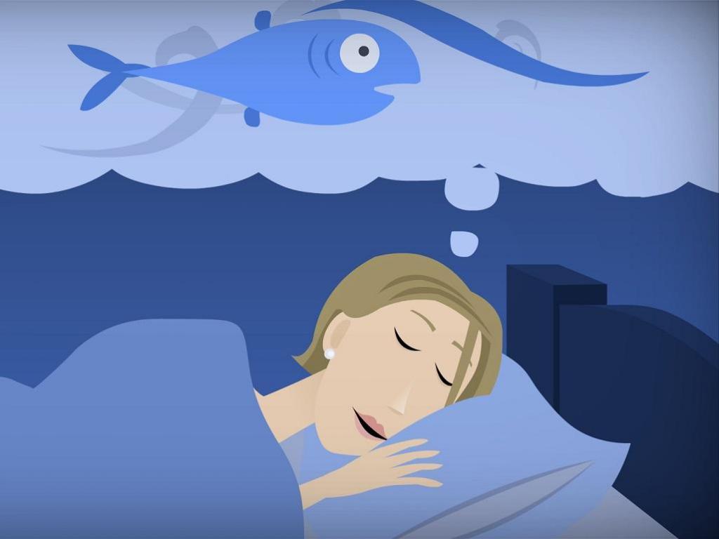 К чему снится беременной женщине рыба 93