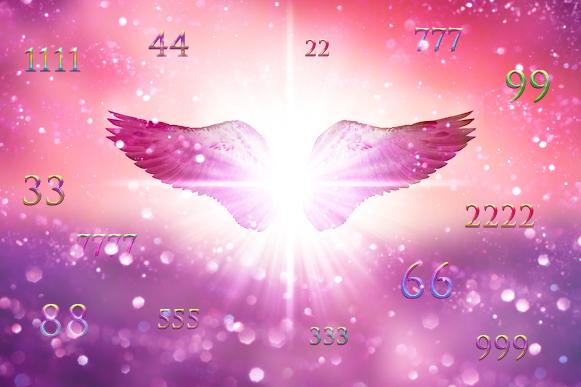 среди цифр крылья
