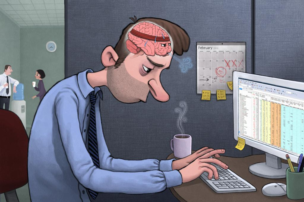 how to stop getting tired at work